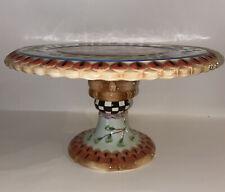New ListingFitz & Floyd Herrick Collection Fox & Hare Pedestal Cake Plate