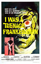"I was Teenage Frankenstein  Movie Poster Replica 13x19"" Photo Print"