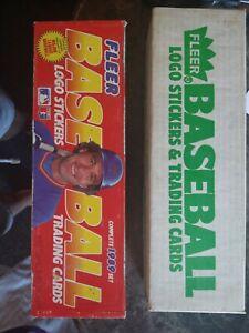 1988 and 1989 Fleer Baseball Factory Sets.