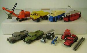 Sammlung DDR Modell Autos / Traktor Espewe ua.