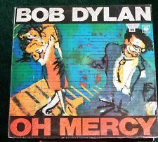 Bob Dylan - Oh mercy LP Album Spanish Pressing Argentina Columbia 70110 (Baez)