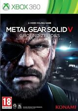 METAL GEAR SOLID V  GROUND ZEROES          -----   pour X-BOX 360
