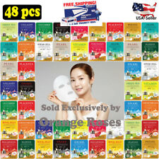 48 pcs Korean Ultra Hydrating Essence Mask Pack, Korean Facial Skincare Sheets