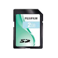 Fujifilm SD 2GB Secure Digital Fuji Memory Card For Digital Cameras sd2gb