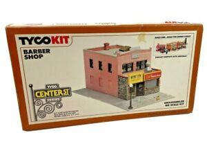 Vintage HO Scale Tyco Kit Barber Shop 7771 Building Kit