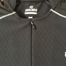 Pearl Izumi Women's Short Sleeve 3/4 Zip Biking Top Shirt size S A93