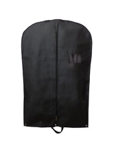 20 X Premium Luxury Black Suit Garment Clothes Travel Covers With Handles *24hrs