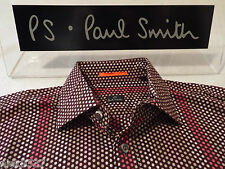 "PAUL SMITH Mens Shirt  🌍 Size S (CHEST 40"") 🌎  RRP £95+ 🌏 SPECTACULAR SPOTS"