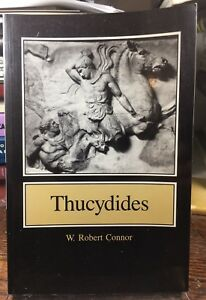 Thucydides W. ROBERT CONNER Trade Paper Princeton 1984 Ancient Greek History