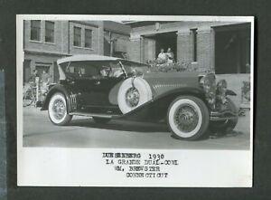 Vintage Car Photo 1930 Duesenberg La Grande ACD Club Auto Show 420155