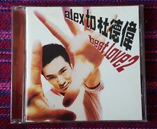 Alex To ( 杜德偉 ) ~ Best Love 2 ( Malaysia Press ) Cd