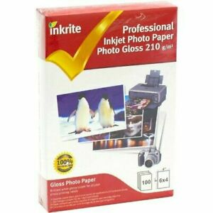 PhotoPlus Professional Paper Photo Gloss 210gsm 6x4 (100 sheets)