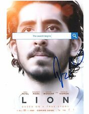Dev Patel In Lion Hand Signed 8x10 Photo Autographed COA