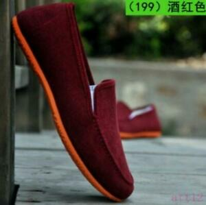 Hot Mens Casual Shoes Multi Colors Slip On Flat Loafer Driving Moccasins Comfort