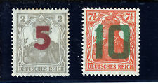 POLAND  1919  GNIEZNO ISSUE Fi 71 (MNH **), 72 (MLH *) ; ZL. 3500,-
