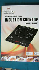 New listing Duxtop Portable Induction Cooktop, High End Full Glass Induction Burner