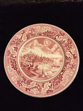 Johnson Brothers Historic America Pink Dinner Plate
