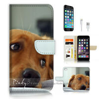 ( For iPhone 6 / 6S ) Wallet Case Cover P3323 Sad Dog