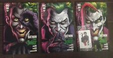 BATMAN TRE JOKER serie completa libro uno 1 + cards libro due 2 libro tre 3 nuov