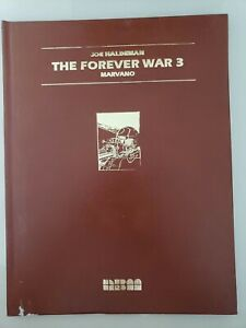 THE FOREVER WAR 3 LEATHERBOUND COLLECTIBLE GRAPHIC NOVEL HARDCOVER AUTOGRAPHED
