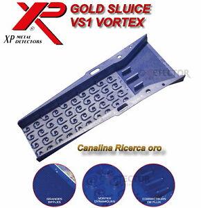 Canaletta canalina per Oro Xp Gold Sluice VS1 Vortex Ricerca oro nativo fiumi