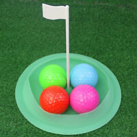 Golf Putting Cup Loch mit abnehmbarer Flagge
