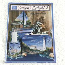 Tole Painting Book - Seasons Delight 2 - Jurate Okura - Vtg 2001 - Scheewe