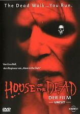 House of the Dead , DVD Region2 (UK & Europe) ,100% uncut , NEW , Uwe Boll