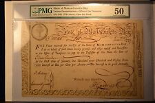 Massachusetts Bay State Lottery Third Class £15 June 1 1779 Anderson MA-15