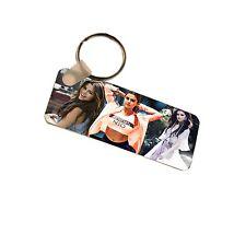 Selena Gomez Number Plate Style Fiberglass Plastic Keyring Bag Tag
