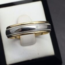 Benchmark - Comfort Fit Wedding Band (Plat & 18k)