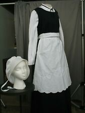Victorian Maid Costume Puritan Pioneer Dress Servant Womens Civil War M-L