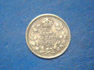 Canada 5 Cents KM# 13 1905(no mint mark)    A139  I COMBINE SHIPPING