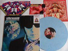 LP VIBRAVOID Distortions BLUE MARBLED VINYL Krauted Mind Rec. KMR 022/1 SEALED