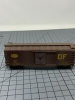 HO Athearn MKT Katy 40' box car road 6557 DF Weathered Boxcar T1