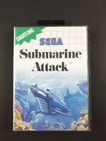 Submarine Attack | Sega Master System SMS | Aus PAL | Missing Manuall | 1990