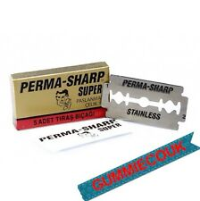 Perma-sharp Super Double Edge Razor Blades (20 X 5) Gratis Envío