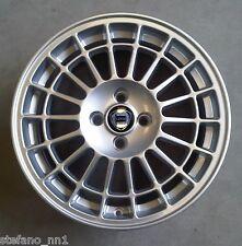 """set 4 Cerchi in Lega 7,5jx16"""" 4x98 per LANCIA DELTA HF Integrale - ruote silver"""