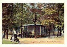 KARL-MARX-STADT (Chemnitz) DDR Repro-Postkarte Tiergarten Gasthaus Scheibe