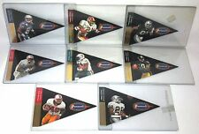 RARE 1997 PLAYOFF PENNANTS SET Signed Autograph Terry Glenn Eddie George 8 Cards