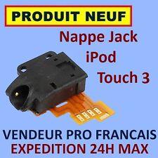 ✖ NAPPE PRISE ÉCOUTEUR AUDIO JACK IPOD TOUCH 3 3G ✖ NEUF GARANTI EXPÉDITION 24H✖