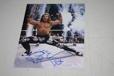 WWE HEARTBREAK KID SHAWN MICHAELS SIGNED AUTOGRAPHED 8X10 PHOTO KNEE HBK JSA