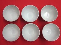 West Elm Ice Cream Soup Cereal Bowls Set of 6