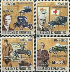 Sao Tome e Principe 3292-3295 (complete issue) unmounted mint / never hinged 200
