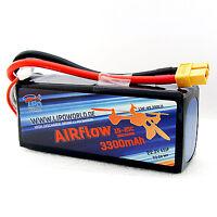 Lipo World AIRflow Akku 6S 22,2V 3300mAh 15C-25C Quadrocopter DJI Drohne UAV