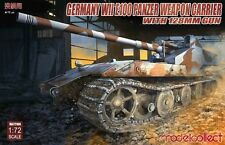 Preorder Modelcollect UA72108 1/72 Germany WWII E100 Panzer Weapon Carrier
