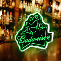 Neon Light Budweiser Signs Beer Bar Pub Party Homeroom Windows Decor For Gift