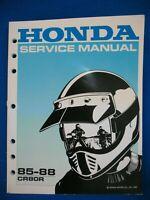Honda 1985 1986 1987 1988 CR80R BRAND NEW Factory Service Shop Manual H80
