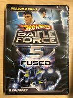 Hot Wheels Battle Force 5 - Fused - Season 2 Vol 4 (DVD, 5 episodes) - NEW19