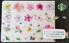 Starbucks Japan 2017 Sakura Cherry Blossom Harmony Card Online Limited Edition